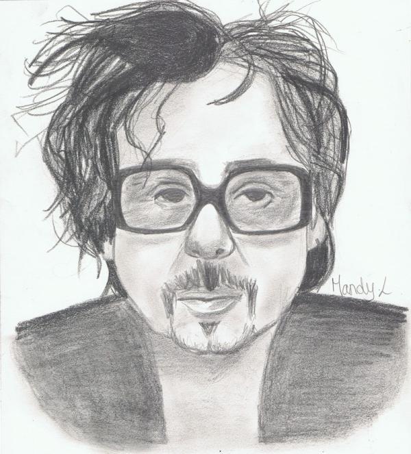 Tim Burton by MandyLair